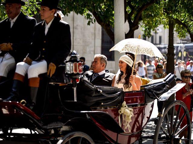 La boda de Alejandro y Mar en Bollullos De La Mitacion, Sevilla 40