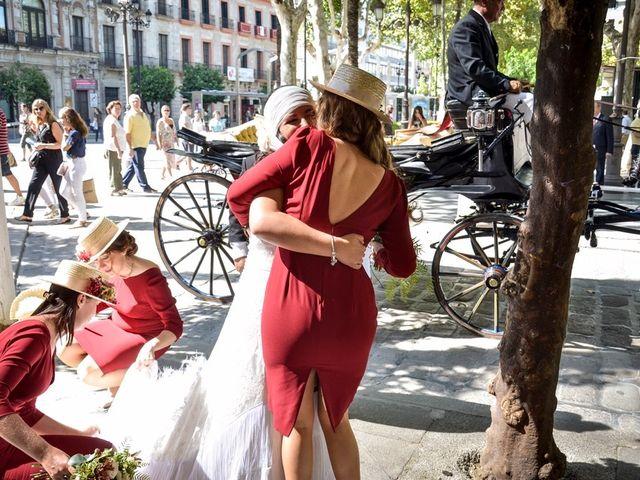 La boda de Alejandro y Mar en Bollullos De La Mitacion, Sevilla 41