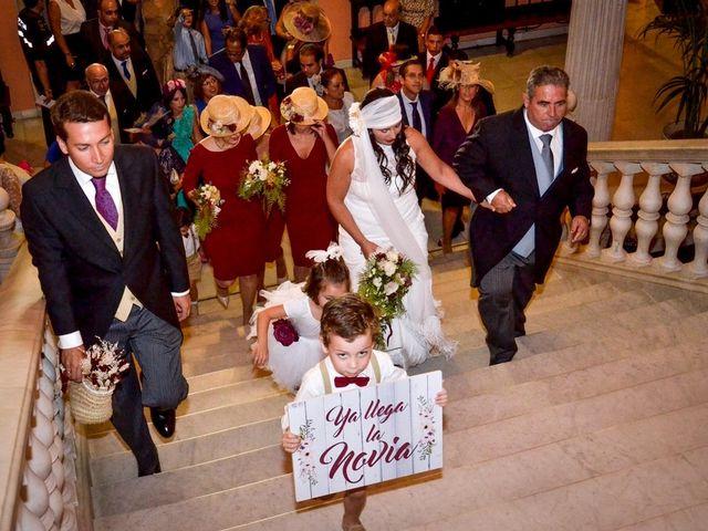 La boda de Alejandro y Mar en Bollullos De La Mitacion, Sevilla 45