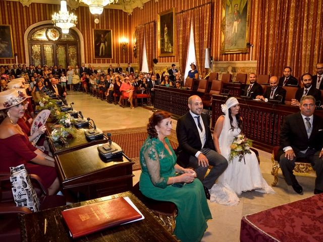La boda de Alejandro y Mar en Bollullos De La Mitacion, Sevilla 51