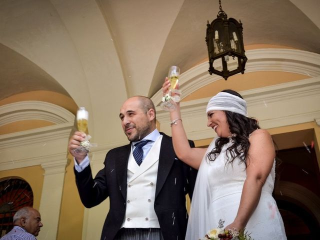 La boda de Alejandro y Mar en Bollullos De La Mitacion, Sevilla 63