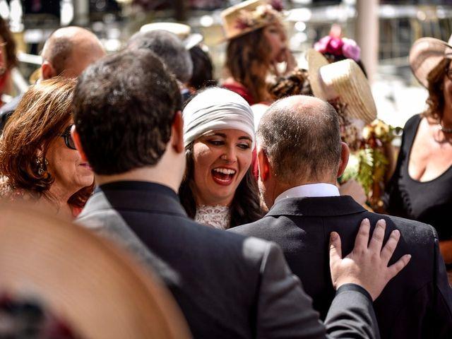La boda de Alejandro y Mar en Bollullos De La Mitacion, Sevilla 64