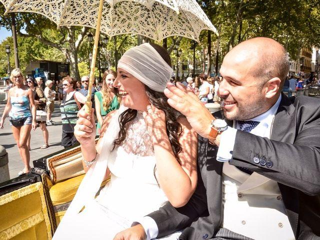 La boda de Alejandro y Mar en Bollullos De La Mitacion, Sevilla 66