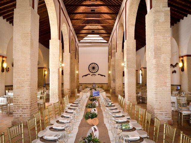 La boda de Alejandro y Mar en Bollullos De La Mitacion, Sevilla 79