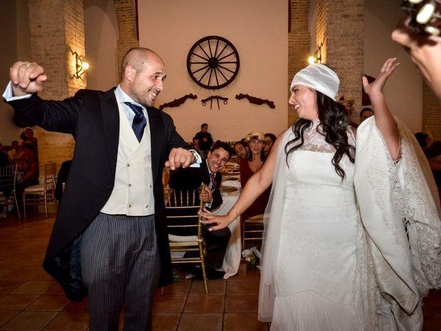 La boda de Alejandro y Mar en Bollullos De La Mitacion, Sevilla 87
