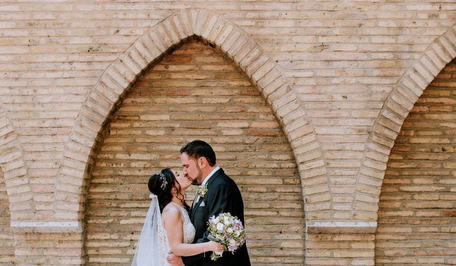 La boda de Carlos y Lorena en Zaragoza, Zaragoza