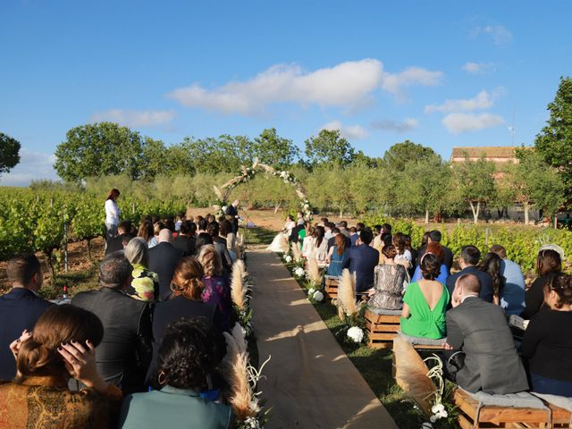 La boda de Miguel Angel y Sara en Sant Cugat Sesgarrigues, Barcelona 4