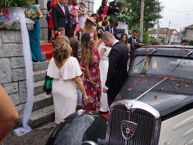 La boda de Alberto y Sarai en Bentraces, Orense 44