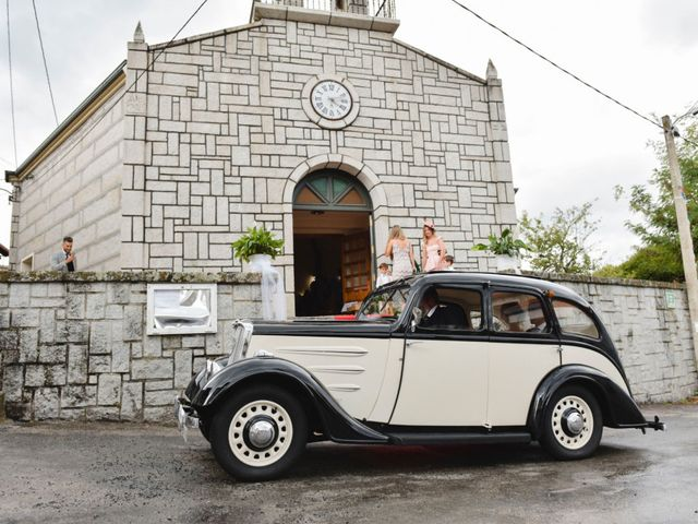 La boda de Alberto y Sarai en Bentraces, Orense 52