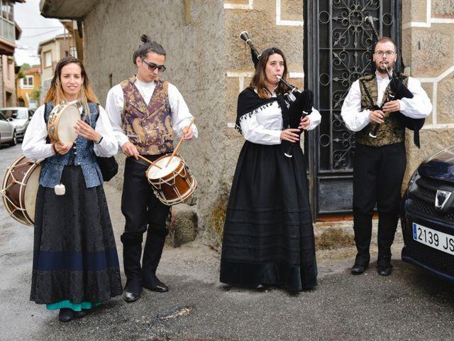 La boda de Alberto y Sarai en Bentraces, Orense 59