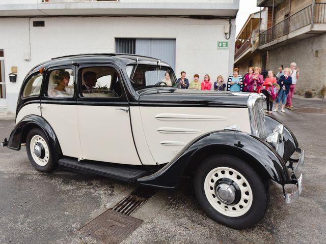 La boda de Alberto y Sarai en Bentraces, Orense 53