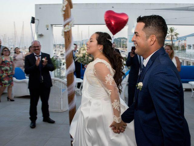 La boda de Karina y Jorge en Dénia, Alicante 19