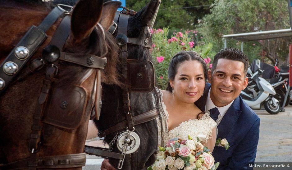 La boda de Karina y Jorge en Dénia, Alicante