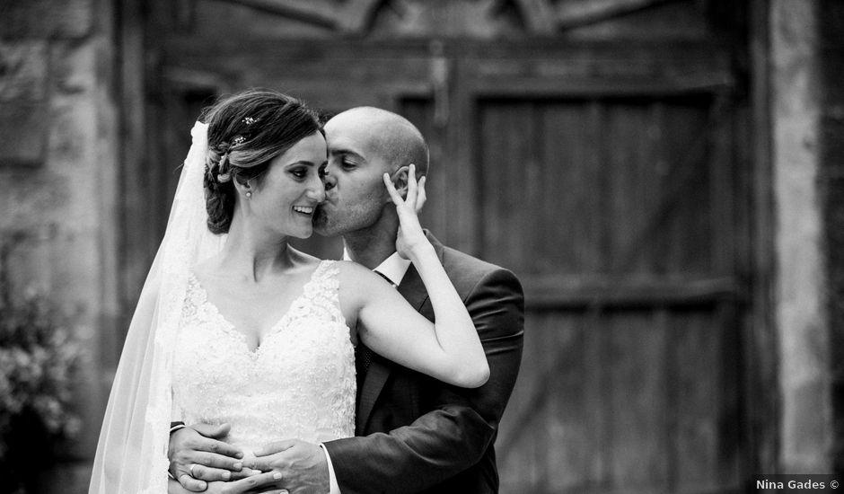 La boda de Arturo y Sara en Villacarriedo, Cantabria
