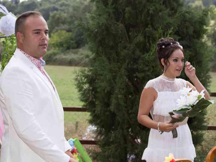 La boda de Laura y Derek