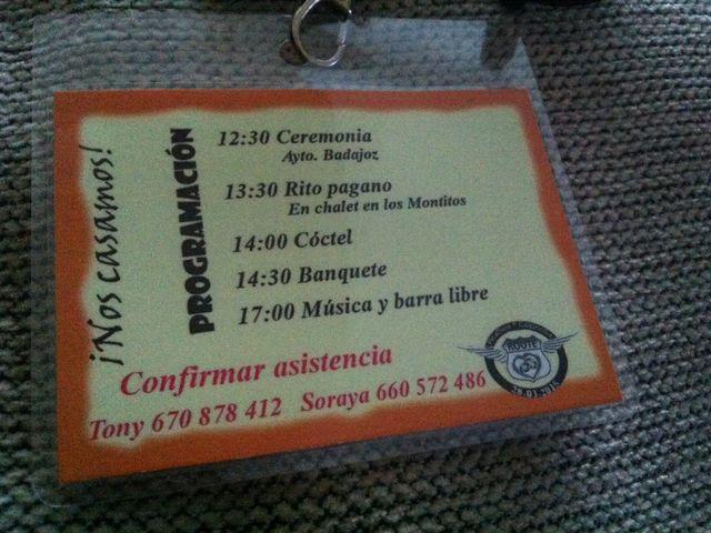 La boda de Tony y Soraya en Badajoz, Badajoz 20