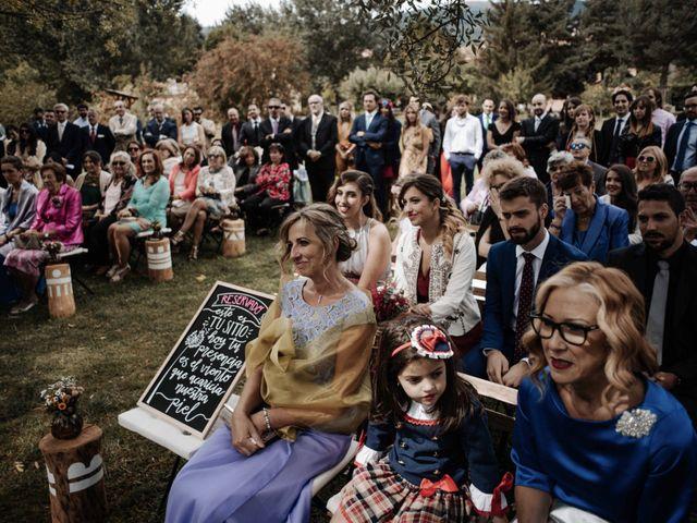 La boda de Nacho y Taty en Rascafria, Madrid 209