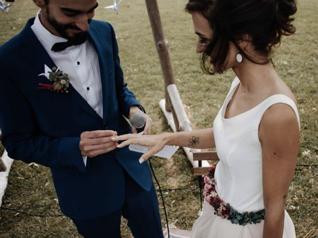 La boda de Nacho y Taty en Rascafria, Madrid 230