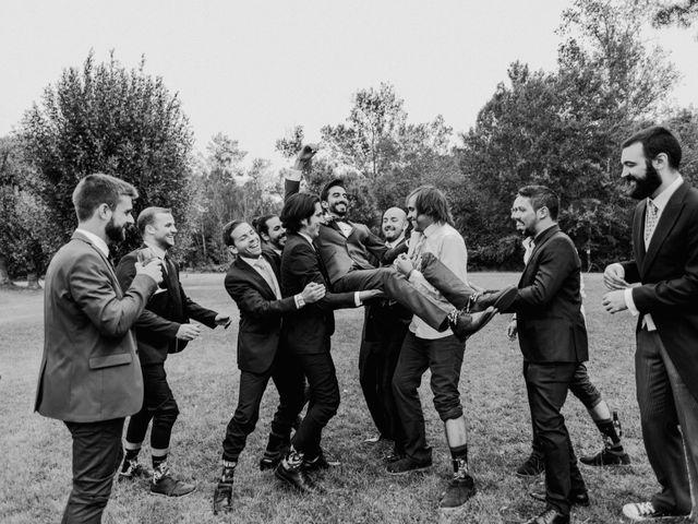 La boda de Nacho y Taty en Rascafria, Madrid 307
