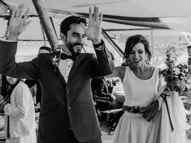 La boda de Nacho y Taty en Rascafria, Madrid 398