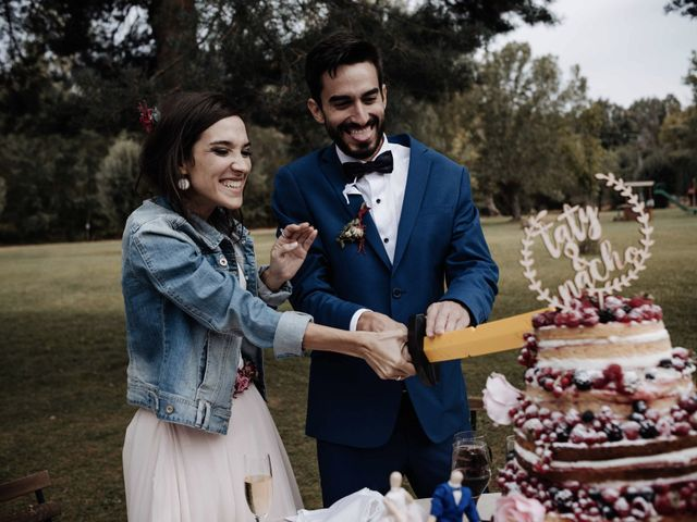 La boda de Nacho y Taty en Rascafria, Madrid 427