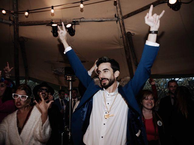 La boda de Nacho y Taty en Rascafria, Madrid 577