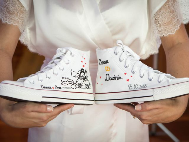 La boda de Omar y Davinia  en Santo Domingo De La Calzada, La Rioja 1
