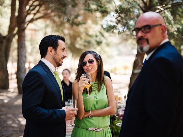 La boda de Carlos y Itziar en Valdemorillo, Madrid 35