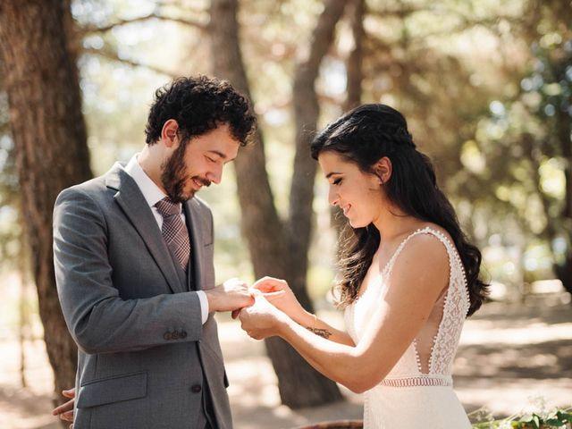 La boda de Carlos y Itziar en Valdemorillo, Madrid 1