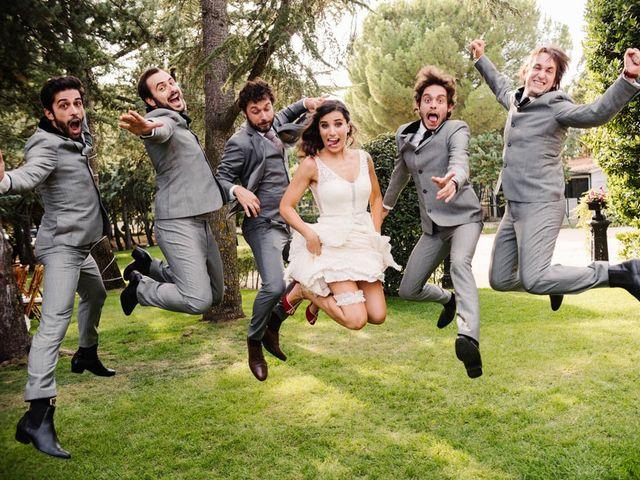 La boda de Carlos y Itziar en Valdemorillo, Madrid 127