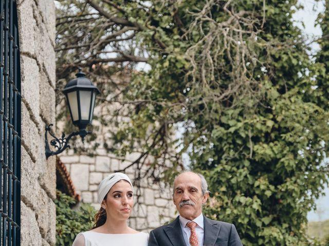 La boda de Victor y María en Torrelodones, Madrid 1