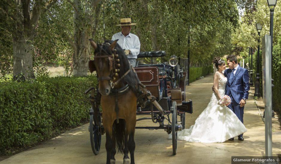 La boda de Fernando y Belén en Yunclillos, Toledo