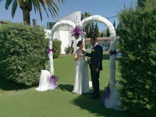 La boda de Gloria y David