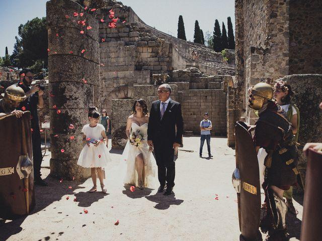 La boda de Aritz y Vanessa en Mérida, Badajoz 26