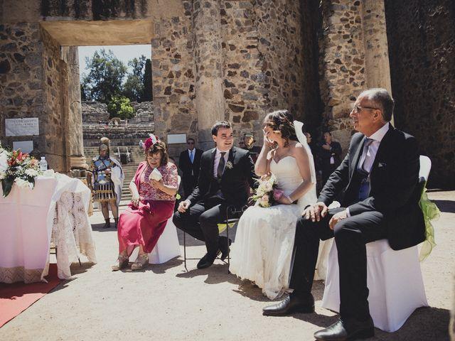 La boda de Aritz y Vanessa en Mérida, Badajoz 38