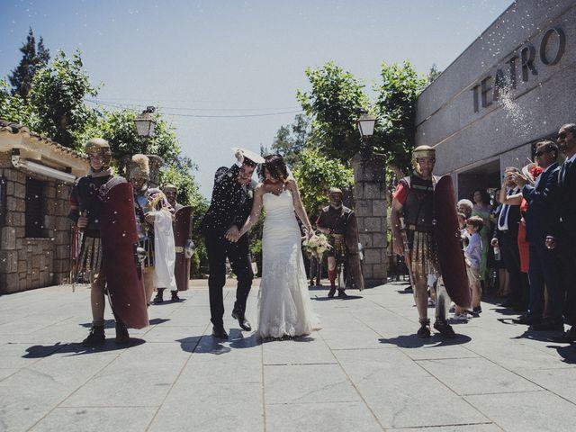 La boda de Aritz y Vanessa en Mérida, Badajoz 43