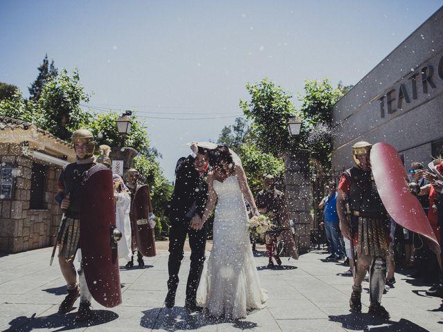 La boda de Aritz y Vanessa en Mérida, Badajoz 44