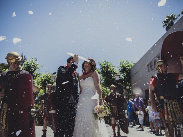 La boda de Aritz y Vanessa en Mérida, Badajoz 45