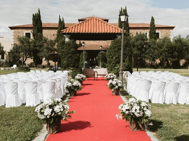 La boda de Hernán y Inés en Olivenza, Badajoz 19