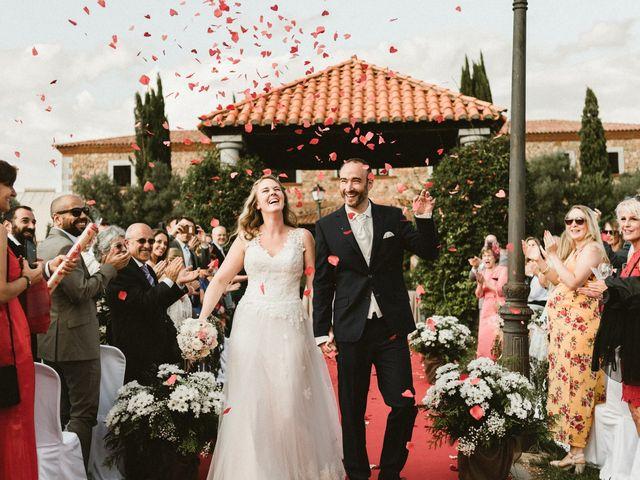 La boda de Hernán y Inés en Olivenza, Badajoz 1