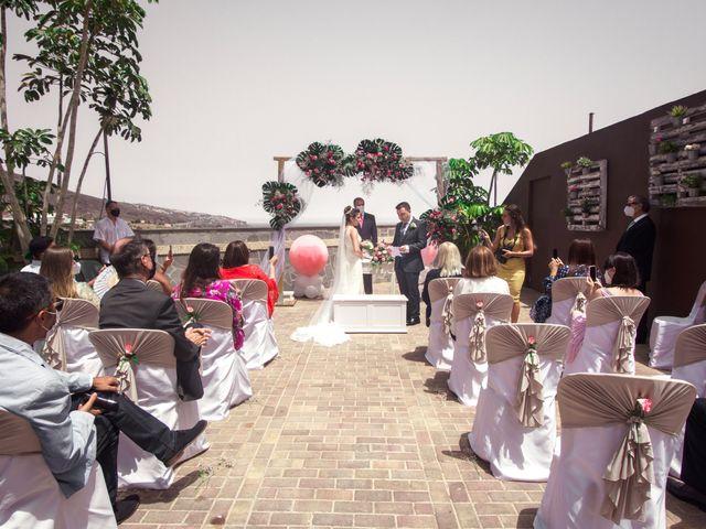 La boda de Borja y Emicel en Santa Cruz De Tenerife, Santa Cruz de Tenerife 13