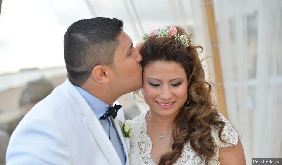 La boda de Javier y Diana en Canet De Mar, Barcelona