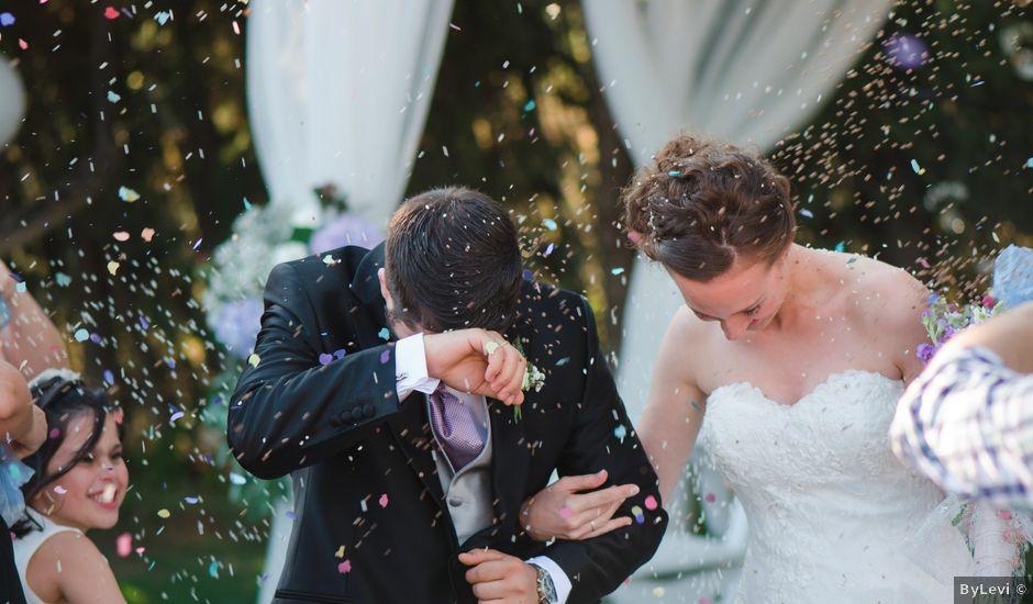 La boda de Joel y Rut en Pedrola, Zaragoza