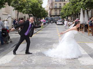 La boda de Libertad y Javi