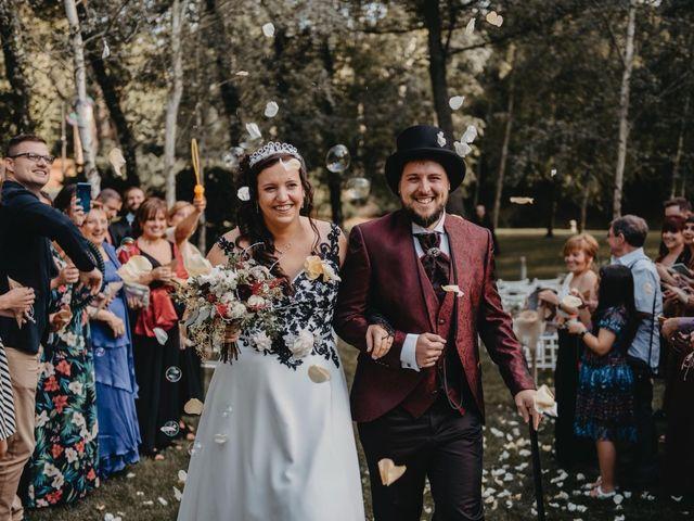 La boda de Dani y Anna en Santa Coloma De Farners, Girona 5