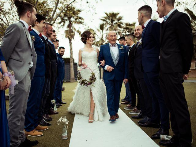 La boda de Nicasio y Miriam en Lebor, Murcia 35