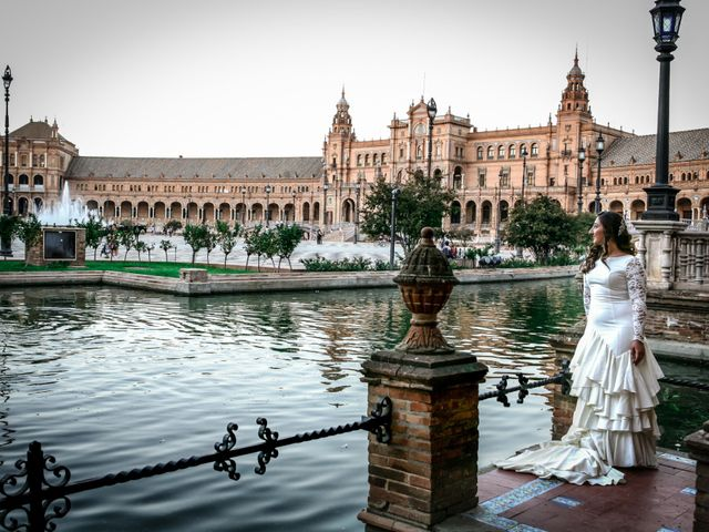 La boda de Fernando y Rocio en Sevilla, Sevilla 55