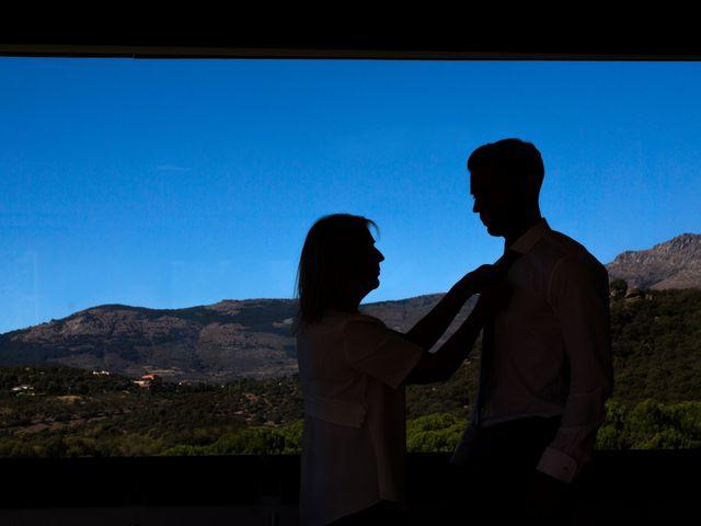 La boda de Rodrigo y Marta en San Lorenzo De El Escorial, Madrid 5