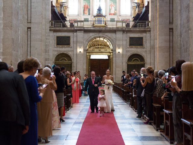 La boda de Rodrigo y Marta en San Lorenzo De El Escorial, Madrid 15