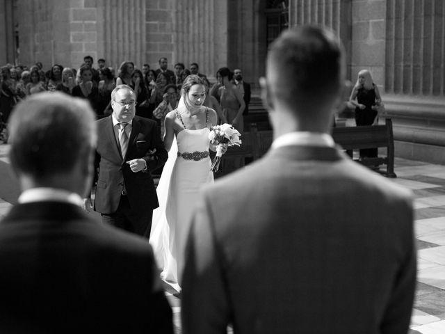La boda de Rodrigo y Marta en San Lorenzo De El Escorial, Madrid 16